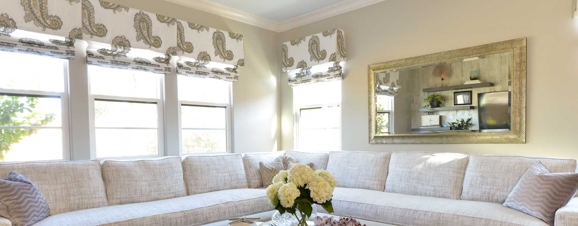 custom fabric shades online valances roman shades direct regal drapes. Black Bedroom Furniture Sets. Home Design Ideas