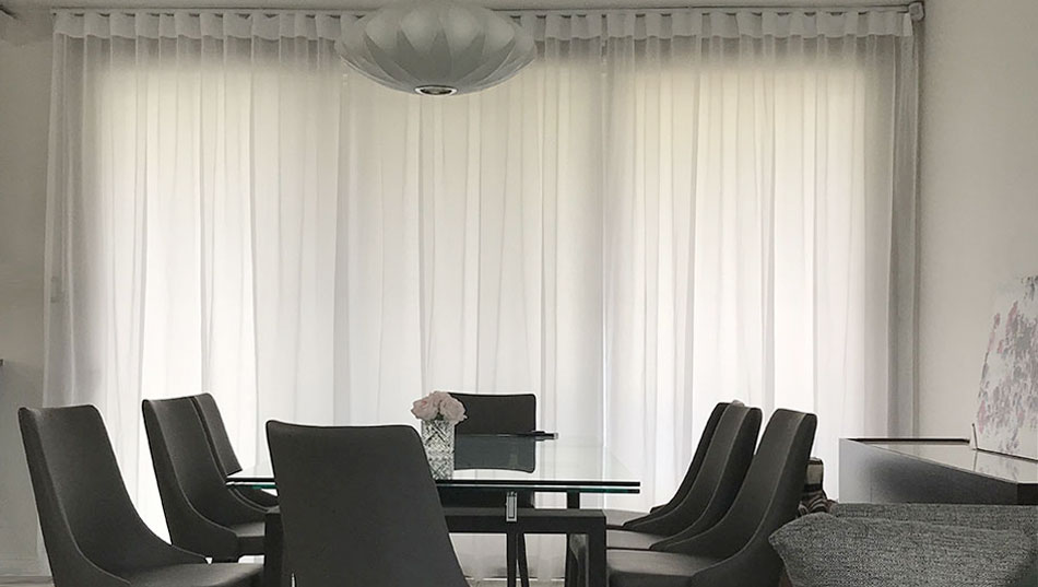 Custom Drapes - Customer Photo