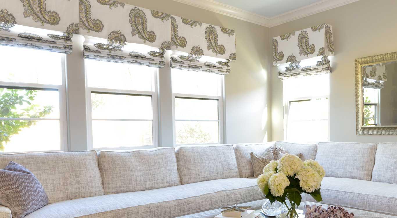custom roman shades online drapes valances direct regal drapes. Black Bedroom Furniture Sets. Home Design Ideas