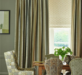 Custom Drapes, Roman Shades, Valances